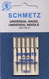 Schmetz UNIVERSAL Needle - Sharp Size 75 (11)