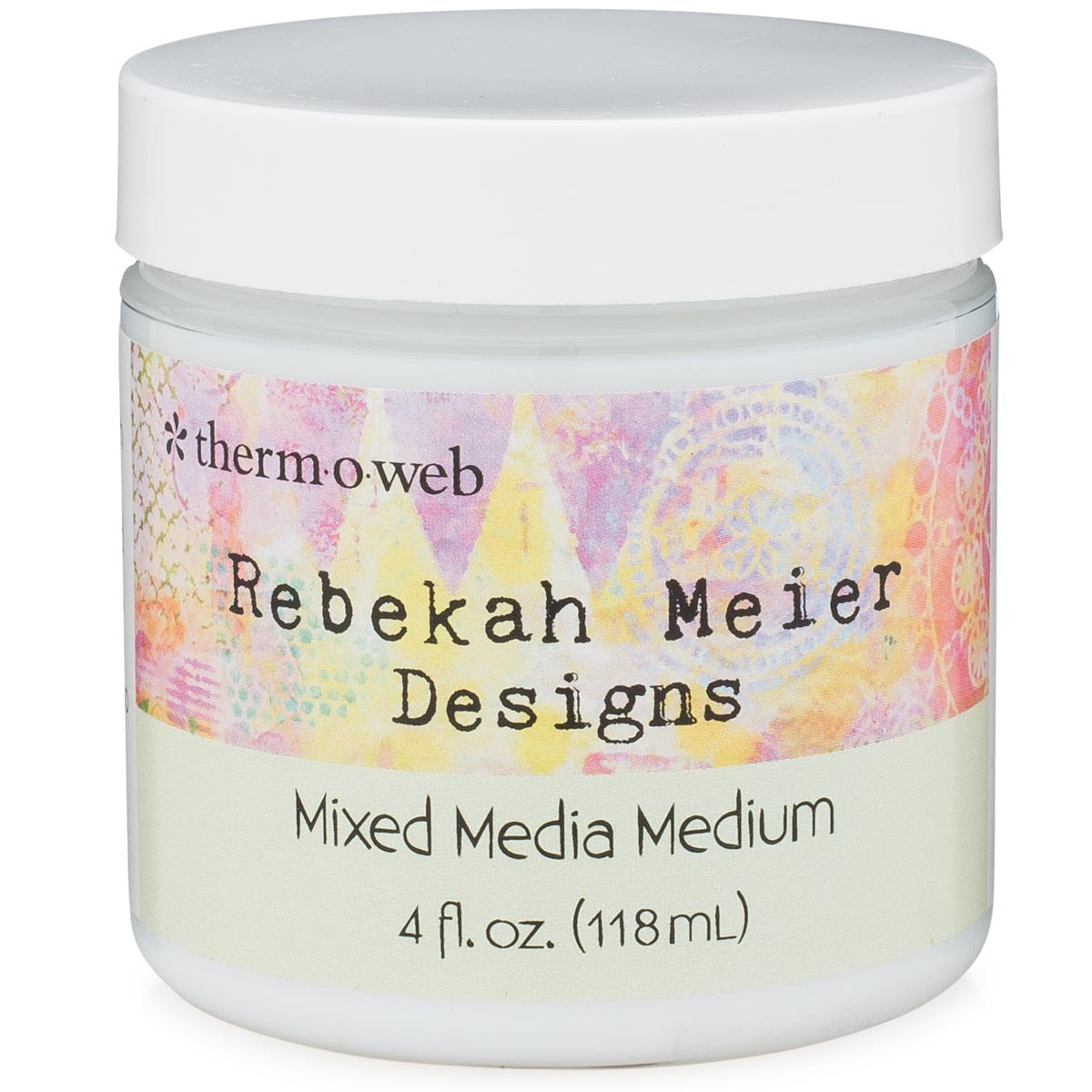 Rebekah Meier Wholesale -  Mixed Media Medium Jar 4 fl oz (118ml)