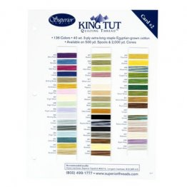 King Tut Shade Card - 949 - 999