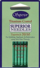 Superior Titanium TOPSTITCH Needle - Size 70/10